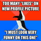 Recently uploaded a profile picture.