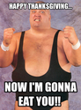 king kong bundy thanksgiving