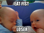 Start boxing at when they're young
